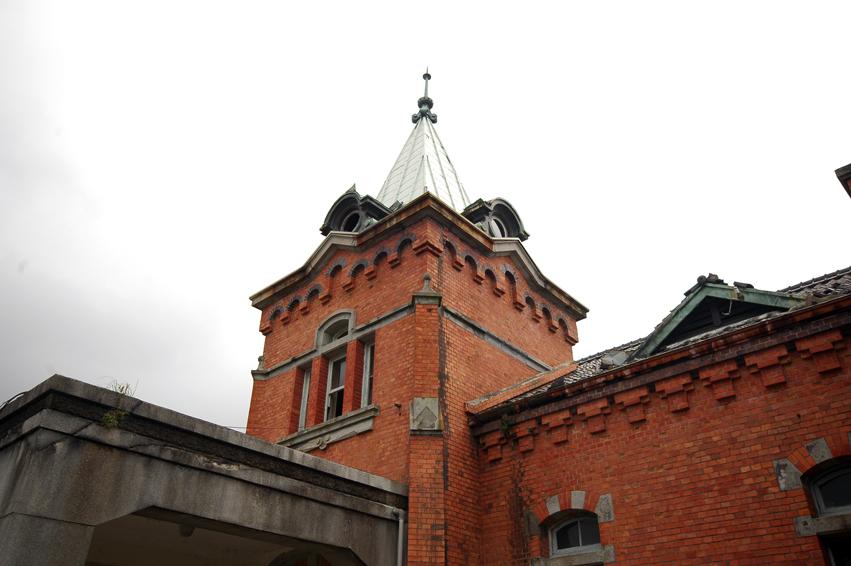 庁舎の尖塔