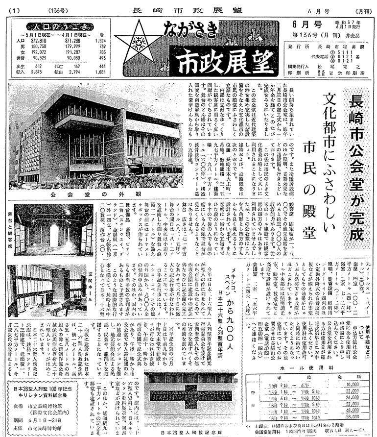 長崎市政展望